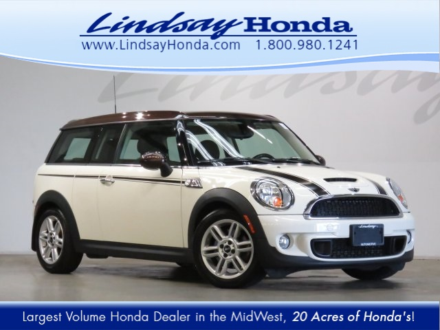 Pre Owned 2013 Mini Cooper S Clubman 2d Coupe In Columbus 19 1192a